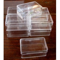 Plastic Box Size 3 Very Small. Carton of 10