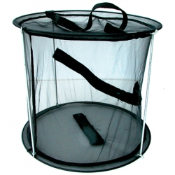 TRAVEL CAGE 26cm diameter 20cm high.
