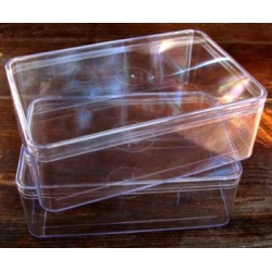 Plastic Box Size 5 Large. Pack of 2