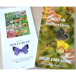 BRITISH BUTTERFLY 2020 CALENDAR by Michael Hampson